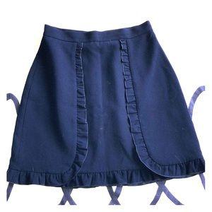 Club Monaco Navy Skirt